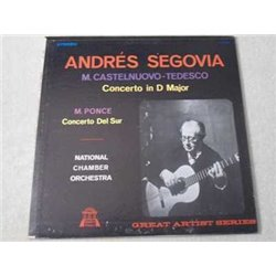 Andres Segovia - Concerto In D Major LP Vinyl Record For Sale