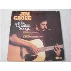 Jim Croce - His Greatest Songs RARE IMPORT LP Vinyl Record For Sale