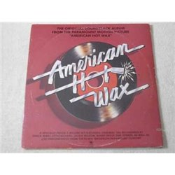 American Hot Wax - Original Soundtrack Album LP Vinyl Record For Sale