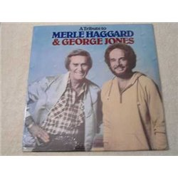 Merle Haggard & George Jones Tribute LP Vinyl Record For Sale
