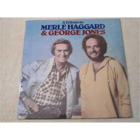 Merle Haggard & George Jones Tribute LP Vinyl Record For Sale