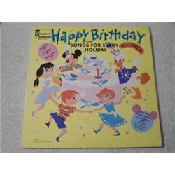 Walt Disney - Happy Birthday LP Vinyl Record For Sale