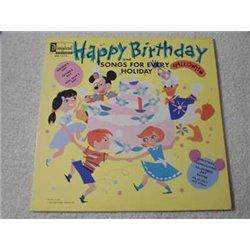 Walt Disney - Happy Birthday LP Vinyl Record For Sale