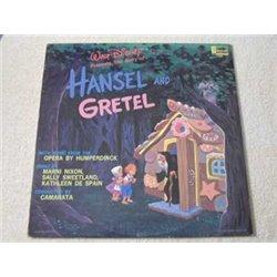 Walt Disney - Hansel And Gretel LP Vinyl Record For Sale