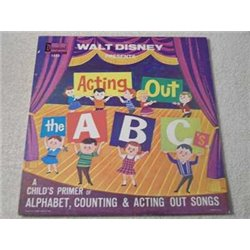Walt Disney - Acting Out The ABC's LP Vinyl Record For Sale