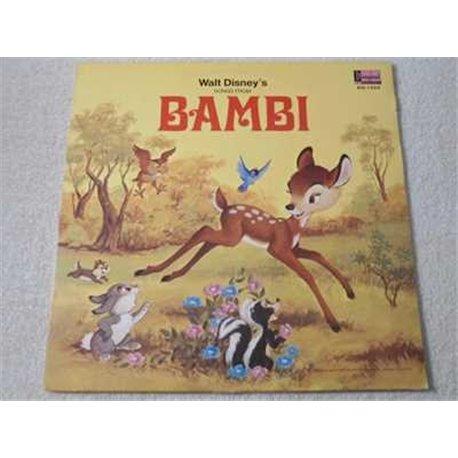 Walt Disney - Bambi LP Vinyl Record For Sale