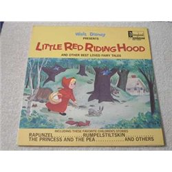 Walt Disney - Little Red Riding Hood LP Vinyl Record For Sale