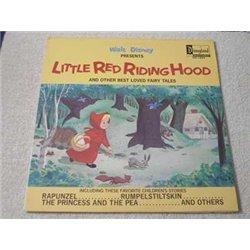 Walt Disney - Little Red Riding Hood LP Vinyl Record For Sale