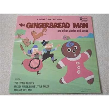 Walt Disney - The Gingerbread Man LP Vinyl Record For Sale