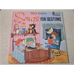 Walt Disney - Songs For Bedtime LP Vinyl Record For Sale
