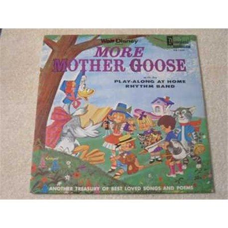 Walt Disney - More Mother Goose LP Vinyl Record For Sale
