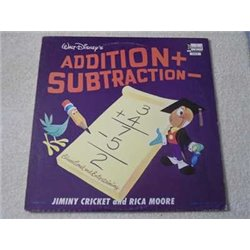 Walt Disney - Addition + / Subtraction - LP Vinyl Record For Sale