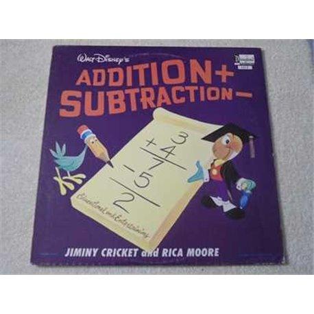 Walt Disney - Addition + / Subtraction - LP Vinyl Record For Sale
