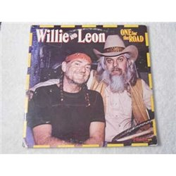 Willie Nelson And Leon Russell - One For The Road 2xLP Vinyl Record For Sale