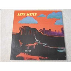 Let's Active - Afoot LP Vinyl Record For Sale