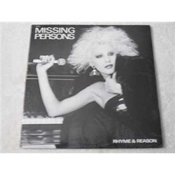 Missing Persons - Rhyme & Reason LP Vinyl Record For Sale