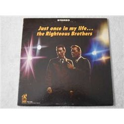 The Righteous Brothers - Just Once In My Life LP Vinyl Record For Sale