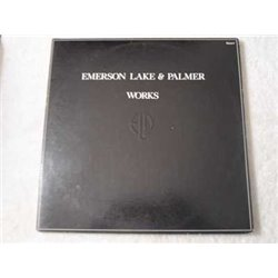 Emerson Lake And Palmer - Works 2xLP Vinyl Record For Sale