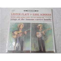 Flatt And Scruggs - Songs Of The Famous Carter Family LP Vinyl Record For Sale