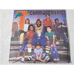 Mr. T - Mr. T's Commandments LP Vinyl Record For Sale