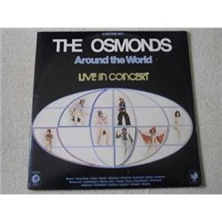The Osmonds - Around The World 2xLP Vinyl Record For Sale