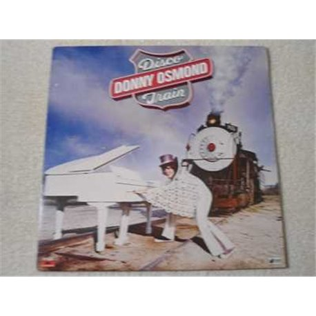 Donny Osmond - Disco Train LP Vinyl Record For Sale
