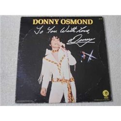 Donny Osmond - To You With Love LP Vinyl Record For Sale