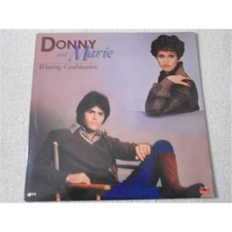 Donny And Marie - Winning Combination LP Vinyl Record For Sale