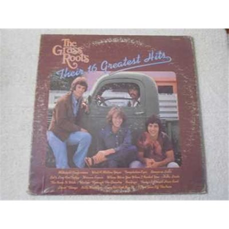 The Grass Roots - Their 16 Greatest Hits LP Vinyl Record For Sale
