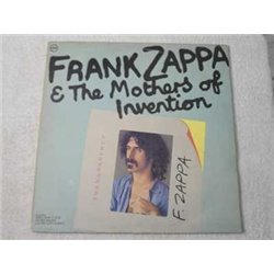 Frank Zappa & The The Mothers Of Invention - Transparency LP Vinyl Record For Sale