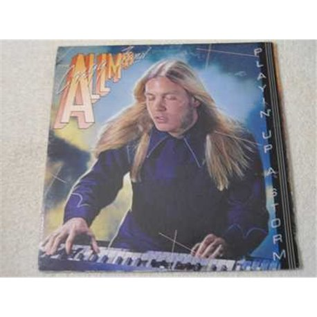 Greg Allman - Playin' Up A Storm LP Vinyl Record For Sale