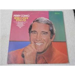 Perry Como - And I Love You So LP Vinyl Record For Sale