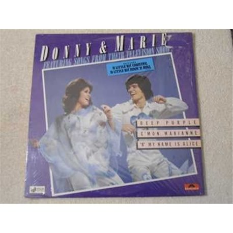 Donny & Marie - Songs From Their Television Show LP Vinyl Record For Sale