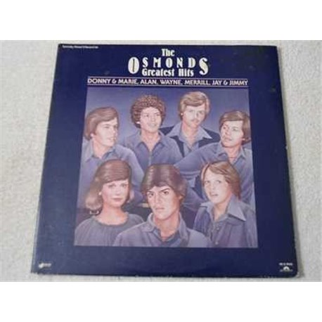 The Osmonds - Greatest Hits 2xLP Vinyl Record For Sale