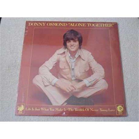 Donny Osmond - Alone Together LP Vinyl Record For Sale