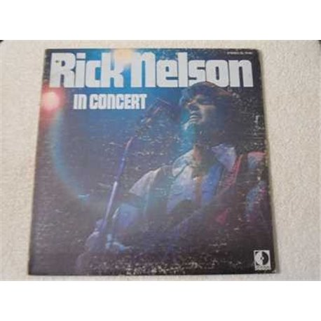 Rick Nelson - In Concert LP Vinyl Record For Sale