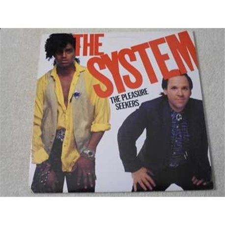 The System - The Pleasure Seekers LP Vinyl Record For Sale