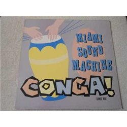 "Miami Sound Machine - Conga! Dance Mix 12"" Single Vinyl Record For Sale"