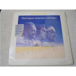 Merle Haggard | George Jones | Willie Nelson - Walking The Line LP Vinyl Record For Sale