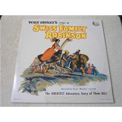 Walt Disney - Swiss Family Robinson LP Vinyl Record For Sale
