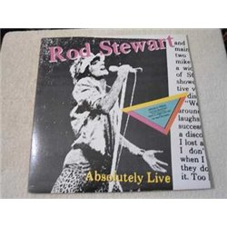 Rod Stewart - Absolutely Live LP Vinyl Record For Sale