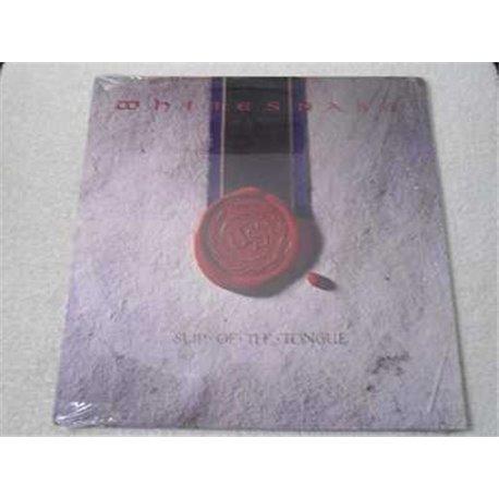 Whitesnake - Slip Of The Tongue LP Vinyl Record For Sale