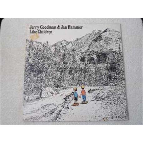 Jerry Goodman & Jan Hammer - Like Children LP Vinyl Record For Sale