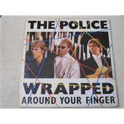 """The Police - Wrapped Around Your Finger 12"""" Single PROMO Vinyl Record For Sale"""
