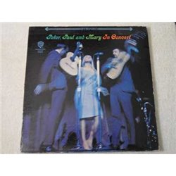 Peter Paul And Mary - In Concert 2xLP Vinyl Record For Sale