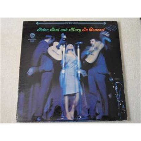 Peter Paul And Mary - In Concert LP Vinyl Record For Sale