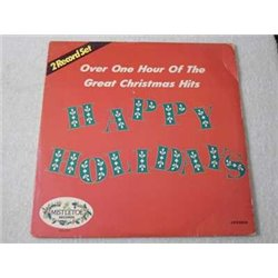 Happy Holidays - The Great Christmas Hits 2xLP Vinyl Record For Sale