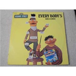 Sesame Street - Everybody's Record LP Vinyl Record For Sale