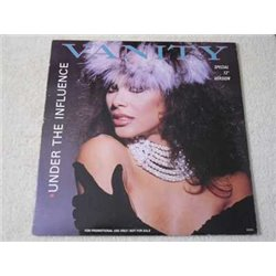 """Vanity - Under The Influence 12"""" Single Vinyl Record For Sale"""
