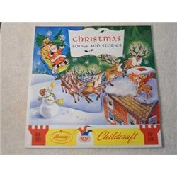 Christmas Songs And Stories LP Vinyl Record For Sale